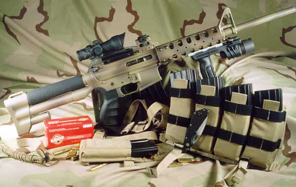 Custom Ar 15 And Accessories