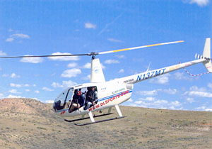Helicopter Event at 2004 ITRC