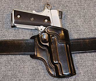 Leather 1911 Belt Holsters