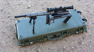 Folding MR-30PG Precision Rifle
