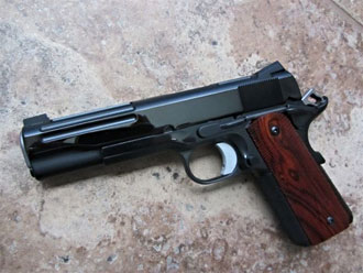 1911 with slide fluting