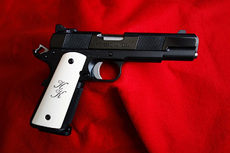 Slimline professional model 1911 with ivory grips