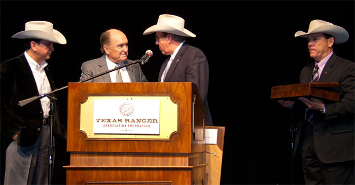 Robert Duvall & the Texas Rangers