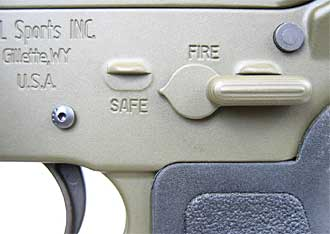 AR-15 Safety Selector Switch